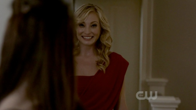 Yay for Caroline being so excited! She's a really good liar!