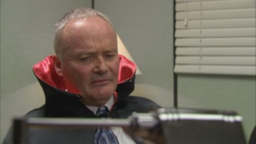 Creed as Dracula
