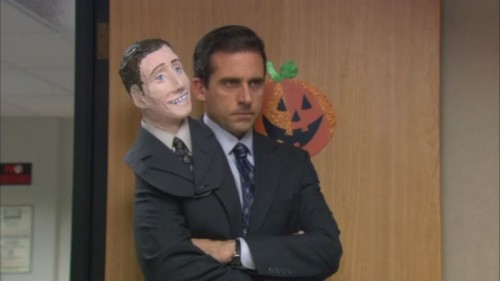 Michael as two-headed Michael