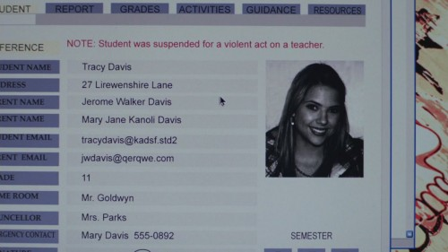 Violent attack on a teacher? Let's just make a casual note.