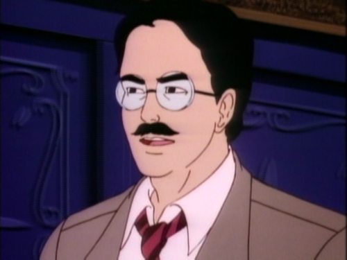 He also looks like one of the Marx brothers.