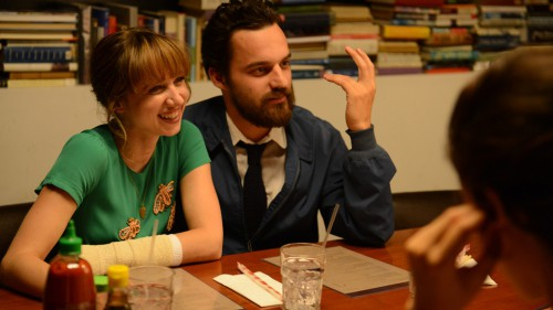 Sexing with Jake Johnson would make me smile too.