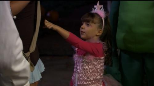 Ellie as a princess