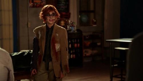 Jess as zombie Woody Allen